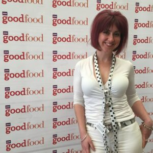 Claire Maguire at the BBC Good Food Show